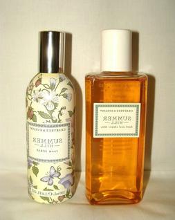 Crabtree & Evelyn Summer Hill 6.8 Oz Bath And Shower Gel & U