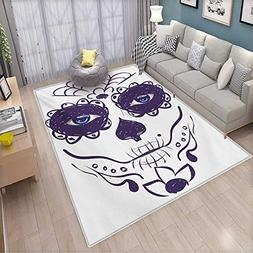 Day of The Dead Girls Rooms Kids Rooms Nursery Decor Mats Di