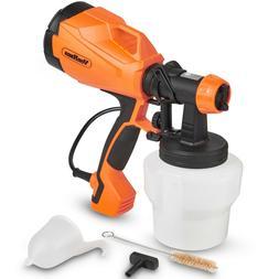 VonHaus Electric HVLP Paint Sprayer Gun Spray Pattern & Flow