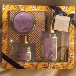 ENCHANTE'ACCESSORIES HONEY LAVENDER GIFT SET CANDLE, DIFFUSE