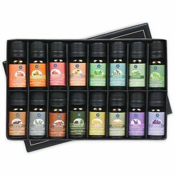 Lagunamoon Essential Oils Gift Set of 16 Pure Essential Oils