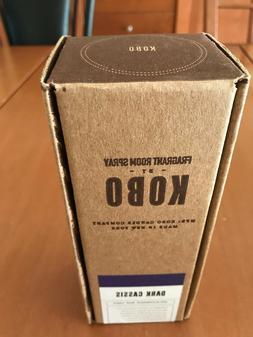 KOBO FRAGRANT ROOM SPRAY. DARK CASSIS. BLACKBERRIES,MUSK AND