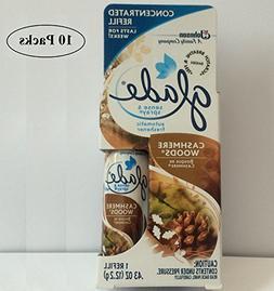 Glade Sense & Spray Refill, Cashmere Woods, 0.43 oz