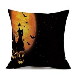 XUANOU Halloween Sofa Bed Home Decoration Festival Pillow Ca