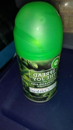 Air Wick Holiday Freshmatic Automatic Spray, Woodland Pine,