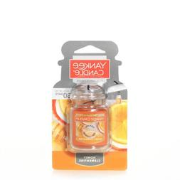 Yankee Candle Honey Clementine Car Jar Air Freshener, Fruit