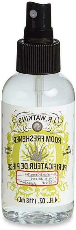 JR Watkins Room Spray 4oz Aloe Green Tea