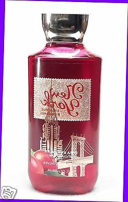 1 Bath & Body Works NEW YORK Big Apple & Caramel Body Wash S