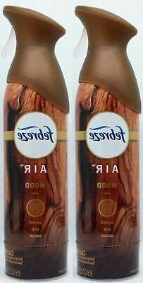 2 Febreze Air Effects WOOD AMBER OUD CEDAR Air Freshener Aer