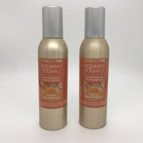 2 honey clementine concentrated room spray air