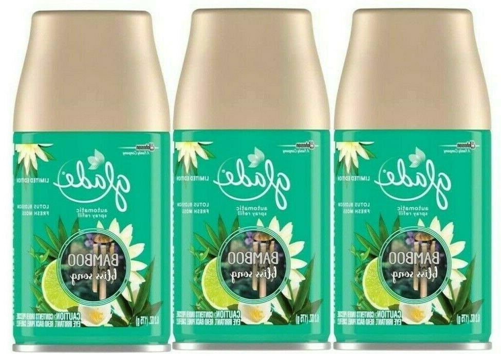 2 pack bamboo bliss song automatic spray