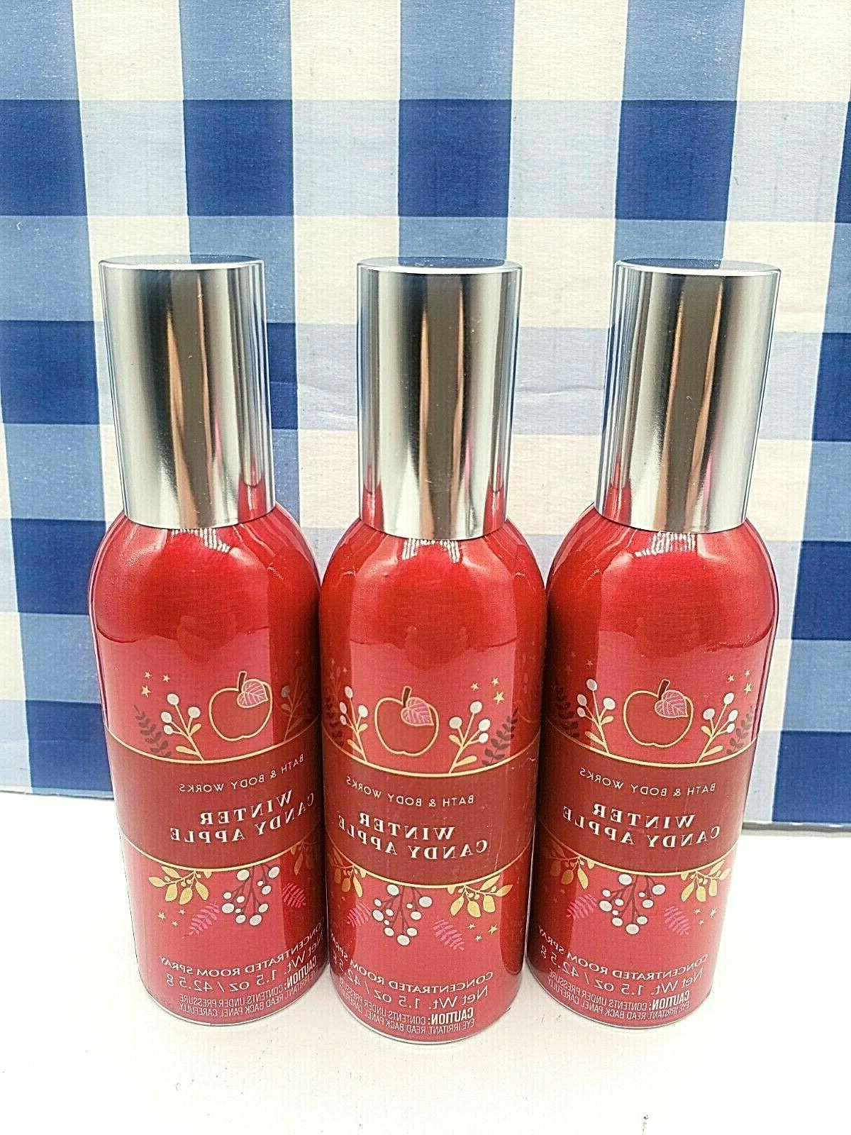 3 bath and body works winter candy
