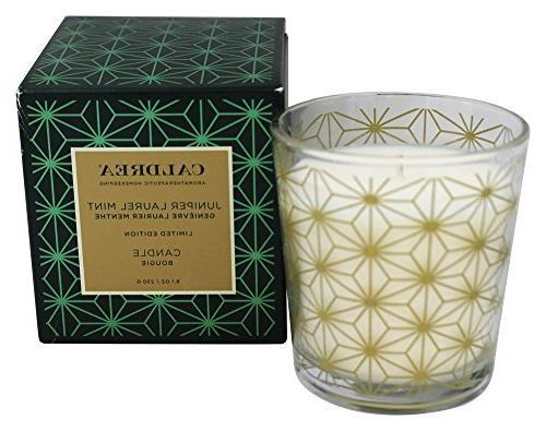 Caldrea - Candle Juniper Laurel Mint - 8.1 oz.