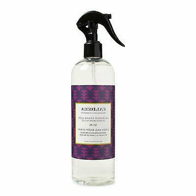 Caldrea Linen and Room Spray, Lavender Cedar Leaf, 16 Ounce