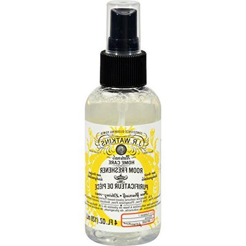 J.R. Watkins Room Freshener Lemon - Non Toxic - Biodegradabl