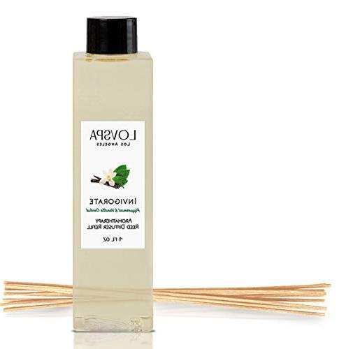 LOVSPA Peppermint & Vanilla Orchid Reed Diffuser Oil Refill