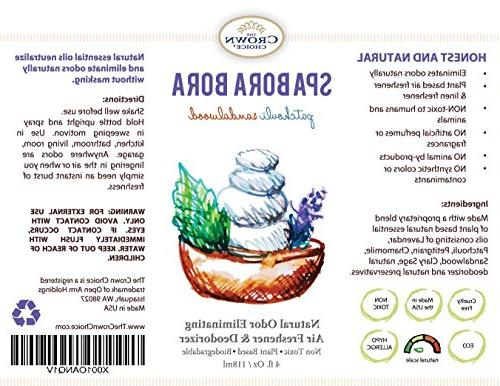 Natural Air Refreshener Uses Patchouli Oils to Room, Home, Toilet