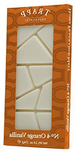 Trapp Candles Home Fragrance Melt, No. 4 Orange Vanilla, 2.6