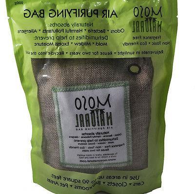Moso Natural Air Purifying Bags / Natural / 200g Bag