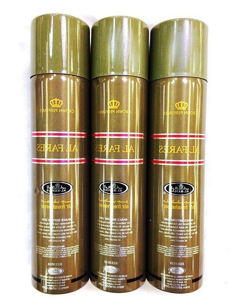 al fares perfume spray 300ml pack of