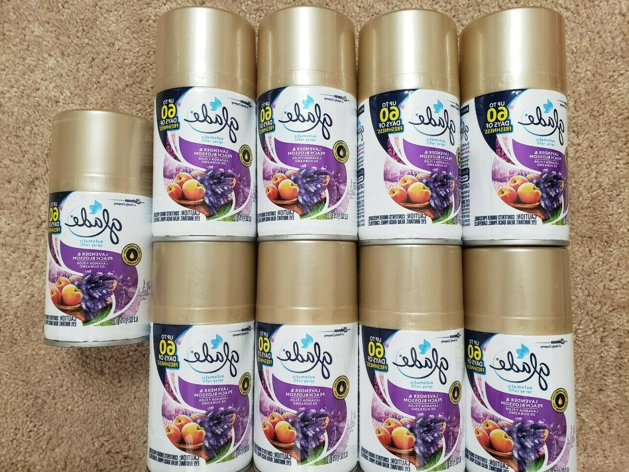 Glade Automatic Spray Air Freshener, Lavender and Peach Blos