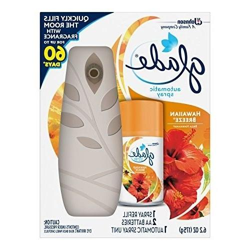 automatic spray air freshener starter kit hawaiian