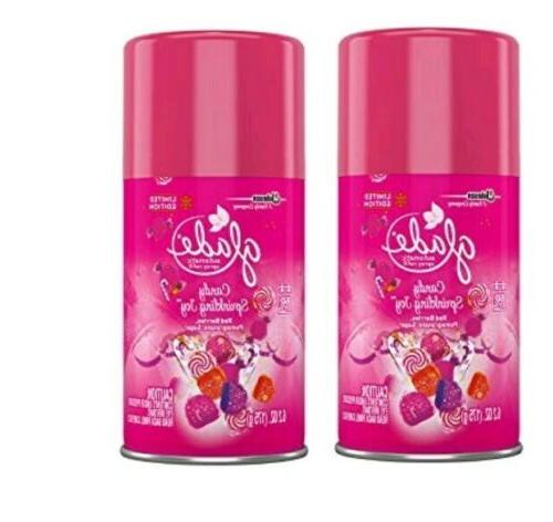 automatic spray refill set of 2 candy