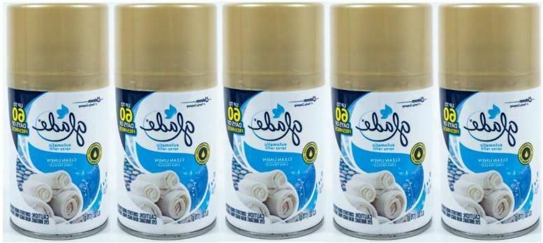 Glade Automatic Spray Refill - Clean Linen 6.2 oz.