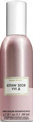 Bath & Body Works Rose Water & Ivy Concentrated Room Spray ~