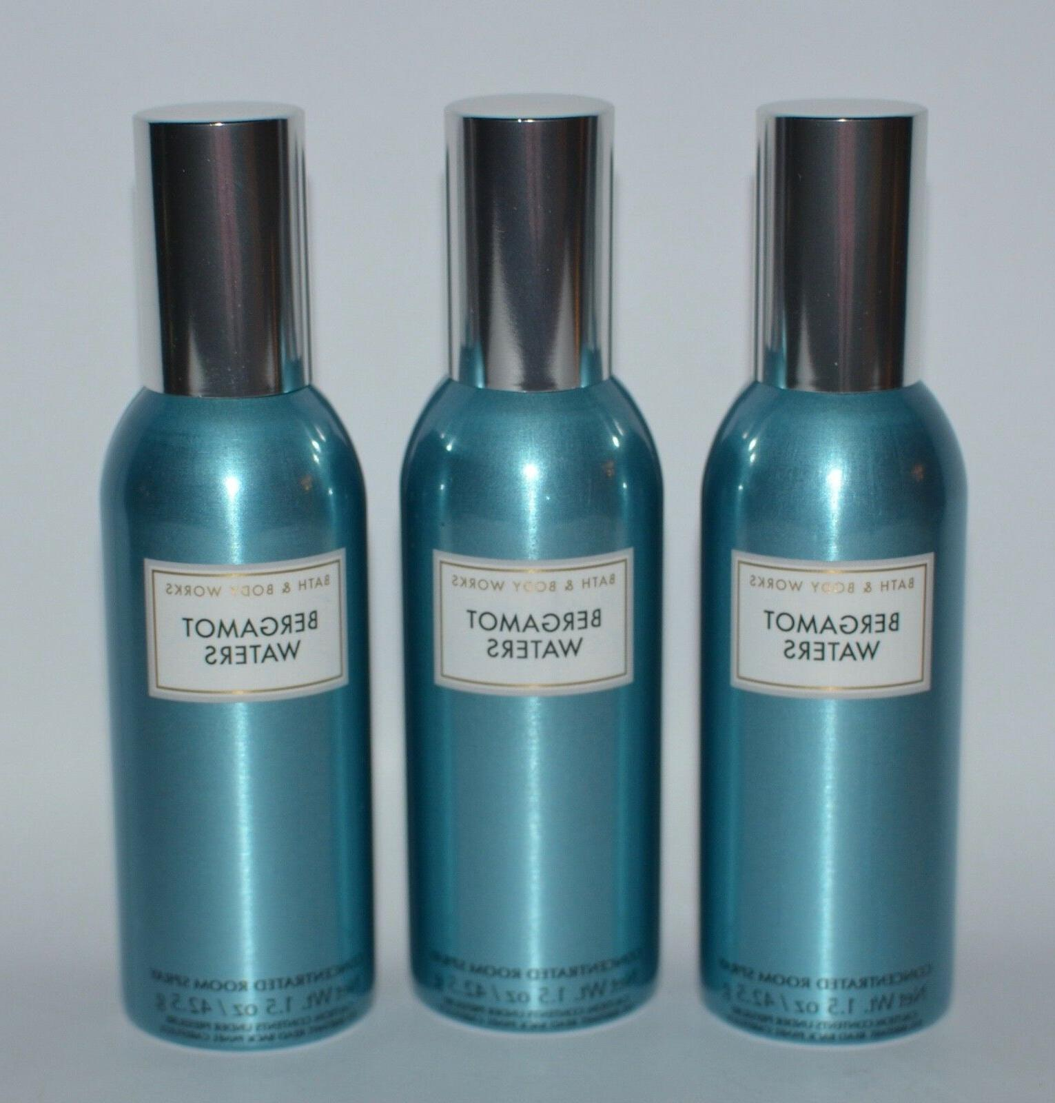 bergamot waters concentrated room