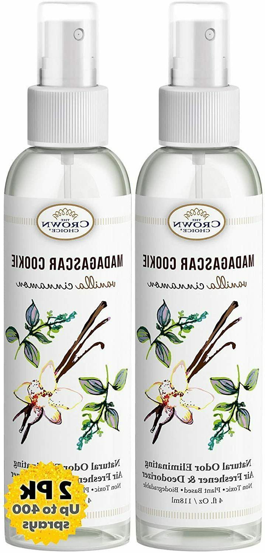 best natural essential oil odor eliminator spray