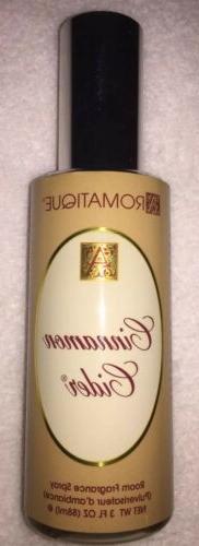 Aromatique Cinnamon Cider Decorator Room Fragrance Sprays 3