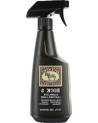 Bick 5 Leather Cleaner & Conditioner 16oz Spray - Bickmore C