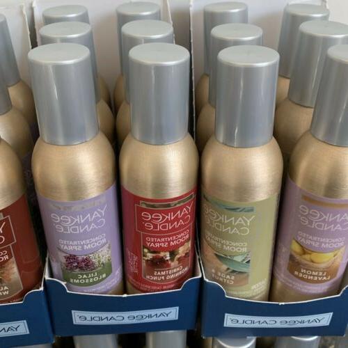 Yankee Candle Spray 1.5 oz Home Fragrance Air U Pick