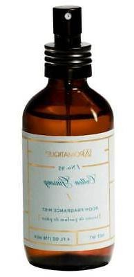Aromatique Cotton Ginseng Pump Room Spray 4 oz - Brown Glass