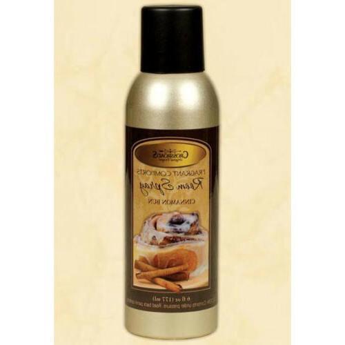 crossroads room spray 6 oz cinnamon bun