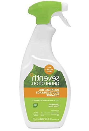 Seventh Generation Disinf Multi-surface Cleaner, Lemongrass