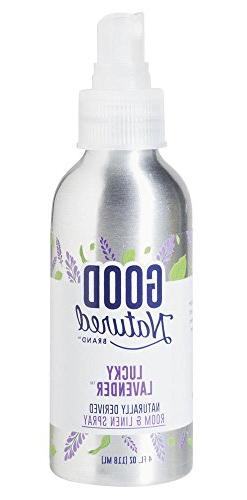 Good Natured Brand All-Natural Eco-Friendly Lavender Room &