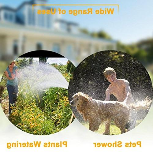 LiPing Foam Adjustable,water hose nozzle, Pressure Garden Sprayer, Nozzle, Wash Showering