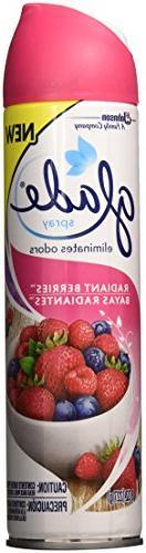 Glade Air Freshener Spray - Radiant  Berries - 8 Oz.