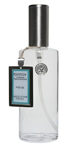 Votivo 4 oz Fragrance Mist in Glass Bottle - White Ocean San