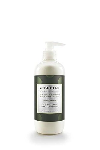 juniper laurel mint hand lotion