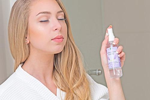 Lavender and Room Spray Natural Mist with LAVENDER ESSENTIAL OIL - Relax Mind Perfect a Spray, Air Freshener, Pillow