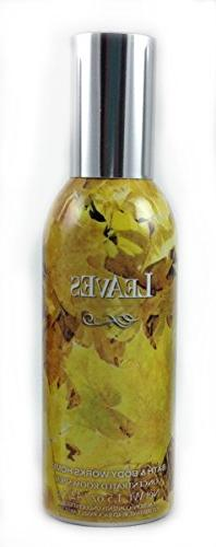 Bath & Body Works Leaves Room Spray 1.5 Ounce Concentrated