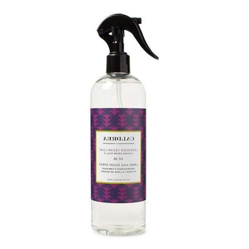 linen and room spray lavender cedar leaf