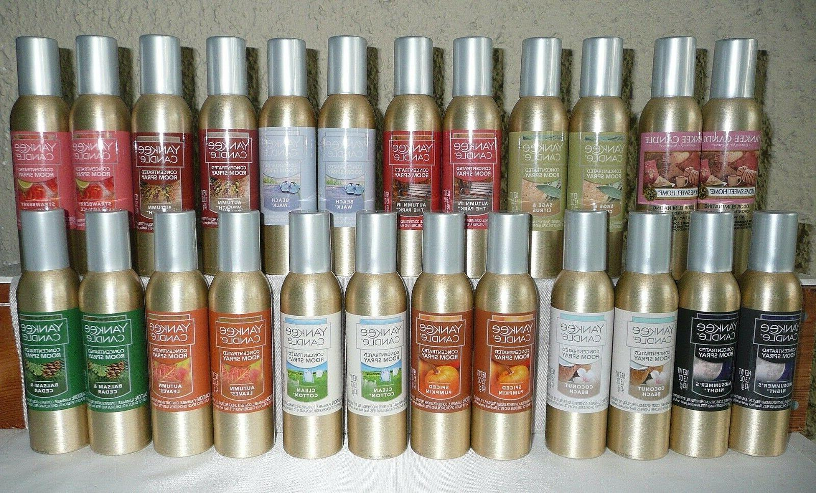 lot 2 new concentrated room spray free
