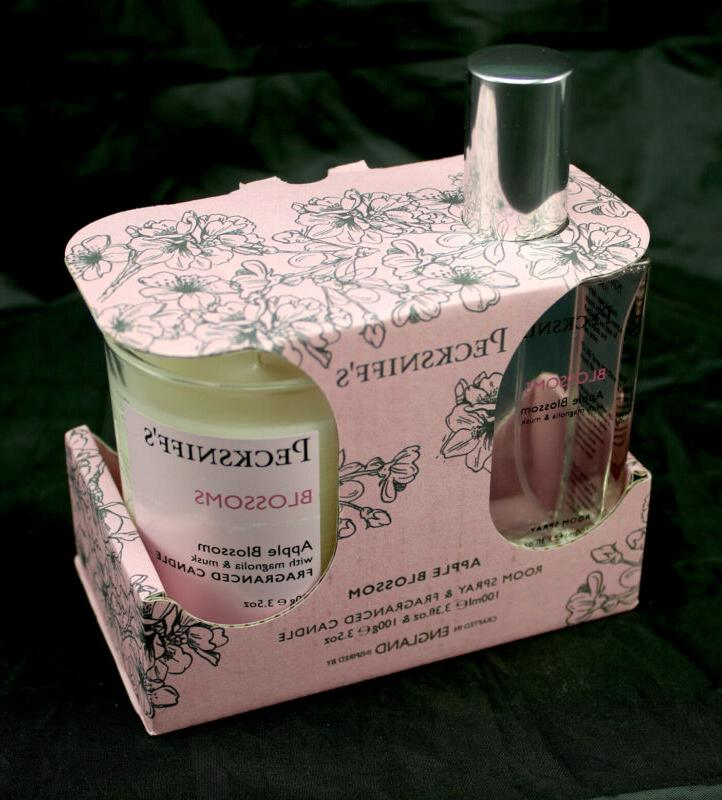 pecksniffs apple blossom jar candle 3 5