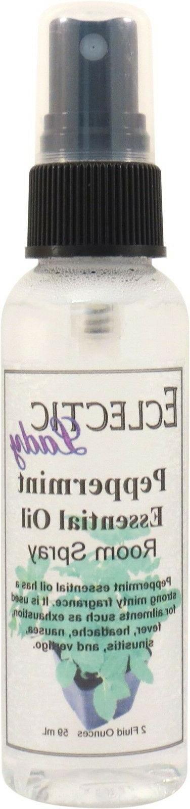 peppermint essential oil room spray