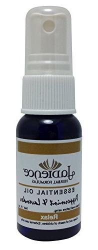 Peppermint Lavender Essential Oil Spray by Jadience: Aromath