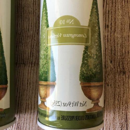 Fragrance Mist Lemongrass Verbena Lot Of